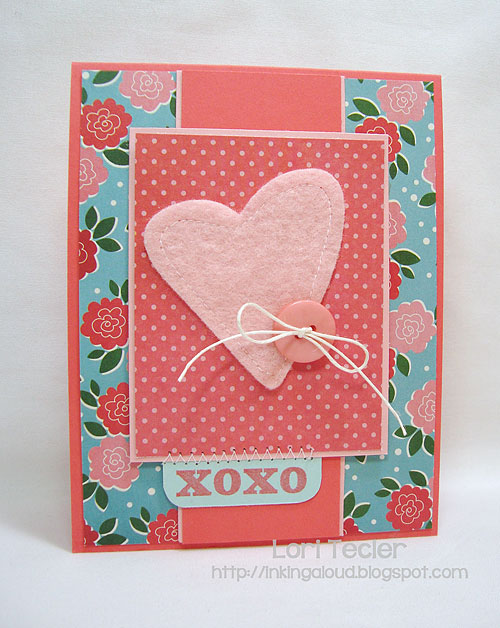 XOXO-designed by Lori Tecler-Inking Aloud-stamps and dies from Verve Stamps