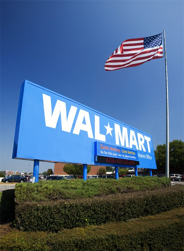 Department Stores Wal Mart Supercenter Main Directory