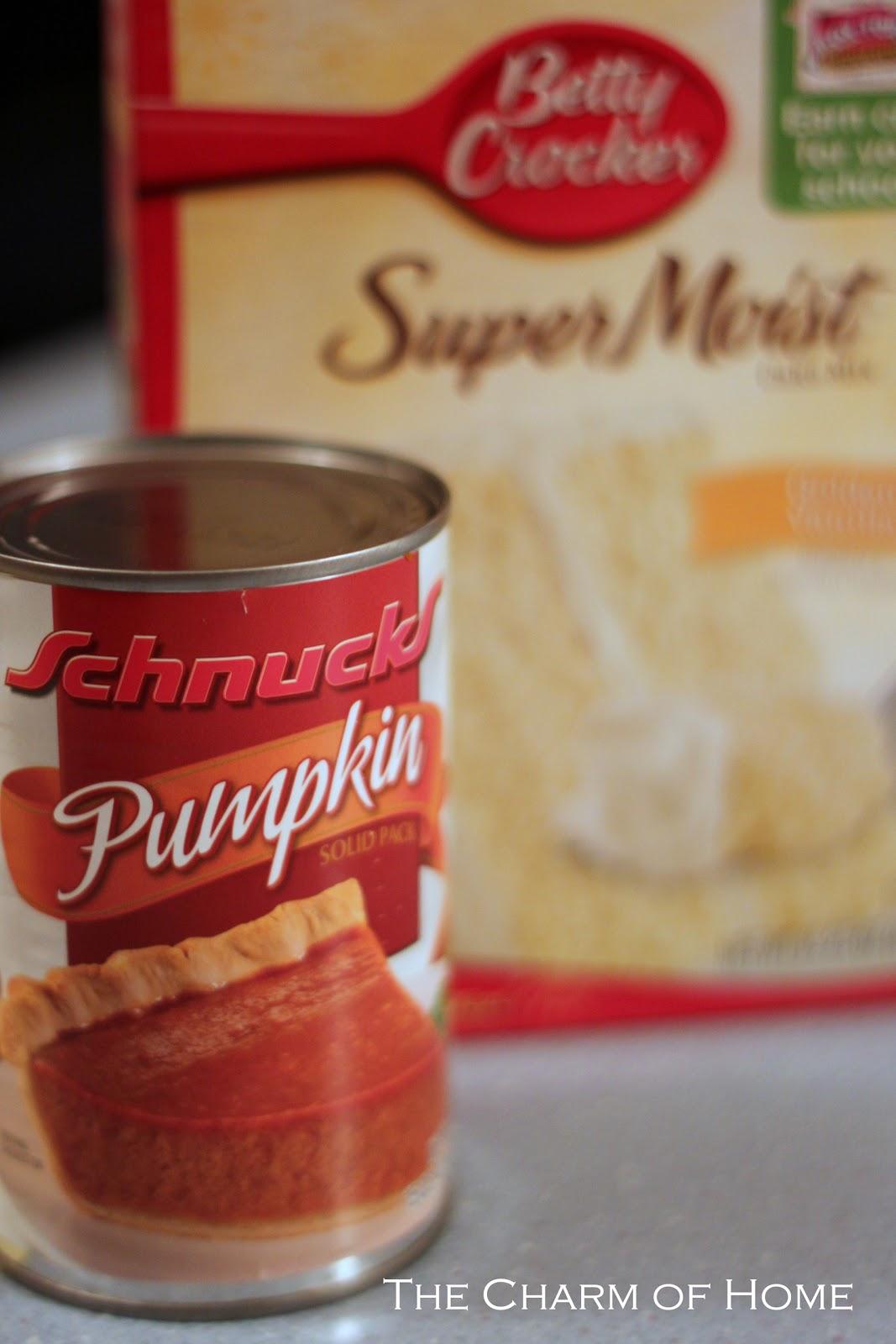 Pumpkin Delight Recipe Yellow Cake Mix