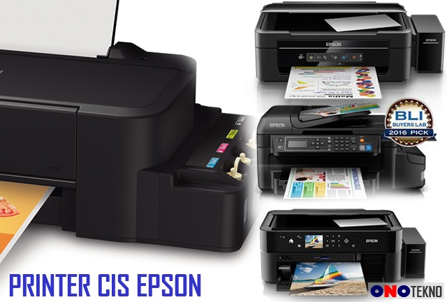 MERK EPSON PRINTER INFUS / CIS ORIGINAL