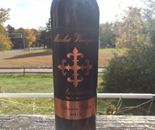 Market Vineyards 2013 Derivative Red Blend