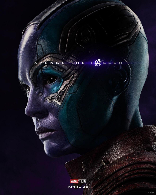 Karen Gillan Avengers: Endgame Poster And Trailer 2019