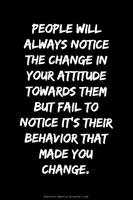 attitude and behaviour relationship advice