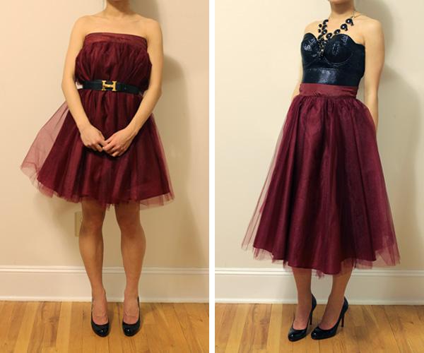 Wear It Five Ways Midi Length Tulle Skirt Elle Blogs