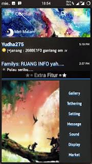 BBM Mod Chat Me Blue Line V2.13.0.26