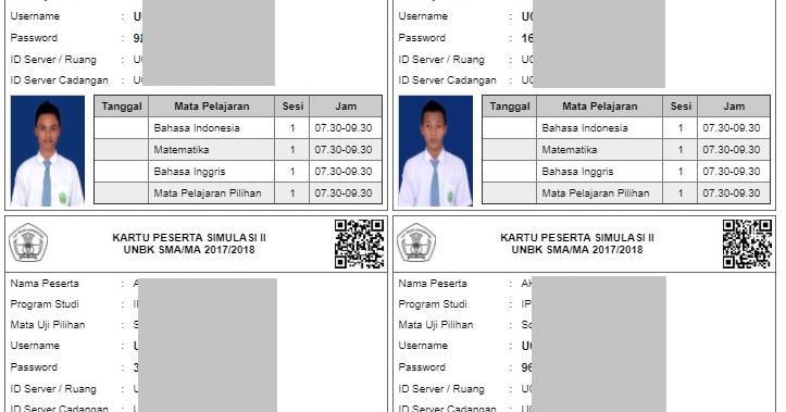 Aturan Pemberian Foto pada Kartu Peserta UN - Harian Madrasah