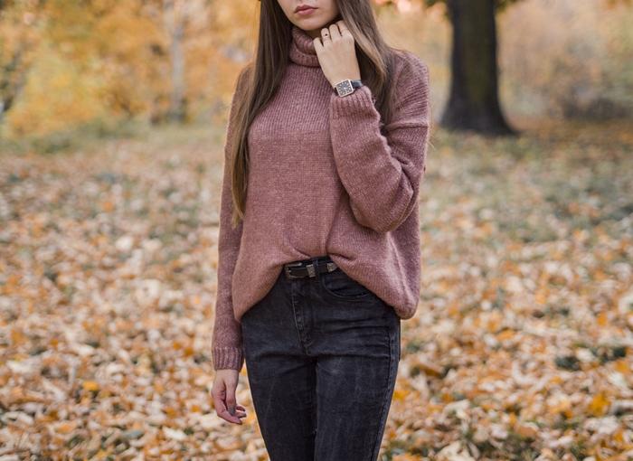 ciepły sweter
