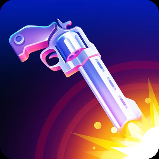 تحميل لعبة Flip the Gun – Simulator Game v1.1 مهكرة وكاملة للاندرويد كلشي مفتوح + أموال لا تنتهي