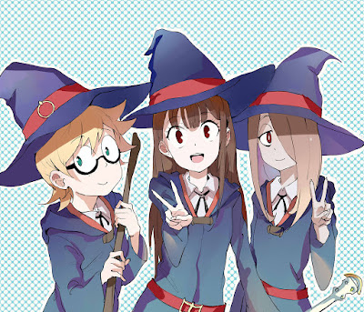 Nonton Little Witch Academia 2017, Cuplikan Keseruan Magic Fantasy