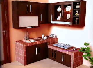 gambar interior dapur minimalis sederhana