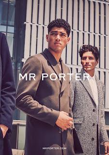 David Agbodji, Rockwell Harwood, Ryan Kennedy & Torin Verdone for Mr Porter FW17