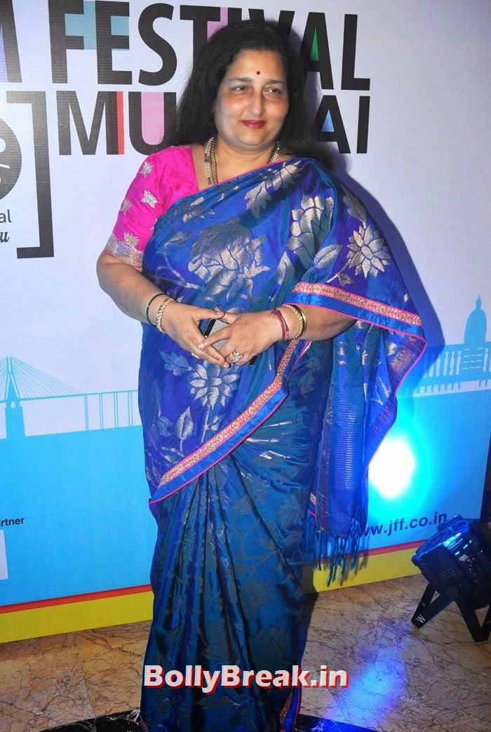 Anuradha Paudwal, 5th Jagran Film Festival Red Carpet Pics