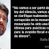 """Rafa Mayoral: """"Vamos a exigir que se clarifique si ha habido corrupción en la monarquía"""""""