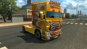 Ristimaa Tiger skin for Scania RJL