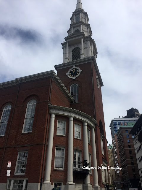 Park Street Church - the 2nd stop on Boston's Freedom Trail