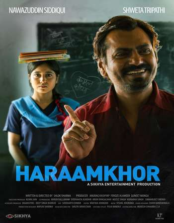 Poster Of Haraamkhor 2017 Hindi 700MB Pre-DVDRip x264 Watch Online Free Download downloadhub.net