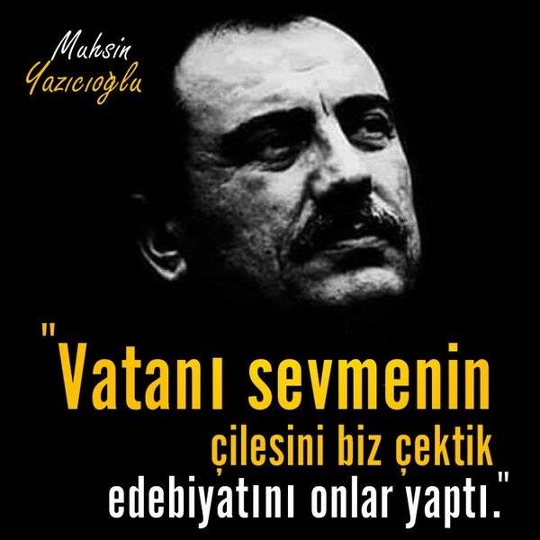 Muhsin Yazıcıoğlu, Muhsin Başkan, Reis, Ülkü Ocakları, Alperen Ocakları, Alperen, Yiğit adam,