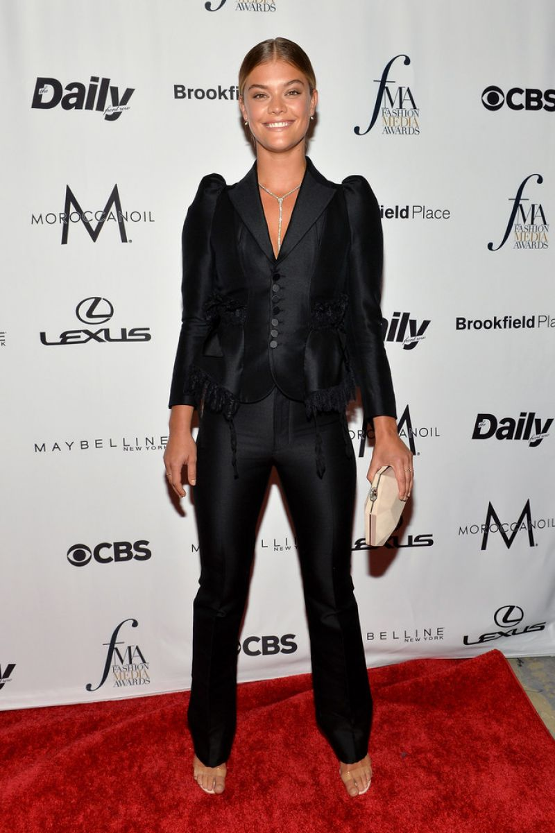 Nina Agdal At The Daily Front Row's 4th Annual Fashion Media Awards 2016