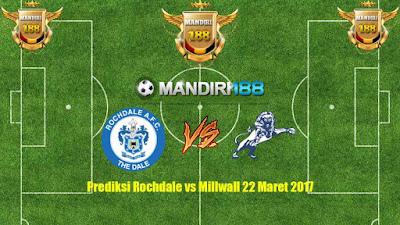 AGEN BOLA - Prediksi Rochdale vs Millwall 22 Maret 2017