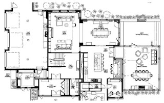 Fancy Modern House Floor Plans
