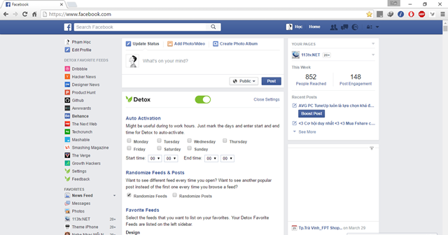 """12 tiện ích mở rộng mà """"dân nghiện"""" Facebook phải có"""