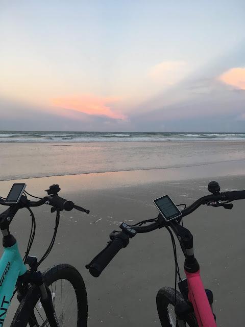 Flaunt vehicles, electric bike, e bike, eco bike, ecofriendly, bicycle, mph, need for speed, pedal assist, battery operated, earth friendly, beach, bikini, fun in the sun, how we roll, ride or die, luminous sol swimwear, beach sunset, beach life, swimwear, inspiration, Florida, sun, bridge, fast, fun, friends, sustainable swimwear, enjoy the ride, bikini life, adventure, wide open, if you got it flaunt it, bikers, flaunt, Get to the water, beach ride, mx, dirtbike, Port Orange, Daytona, lifestyle, blogger