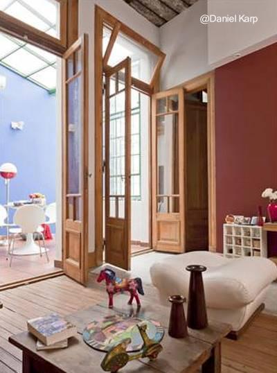 Casa chorizo renovada en la Ciudad de Buenos Aires