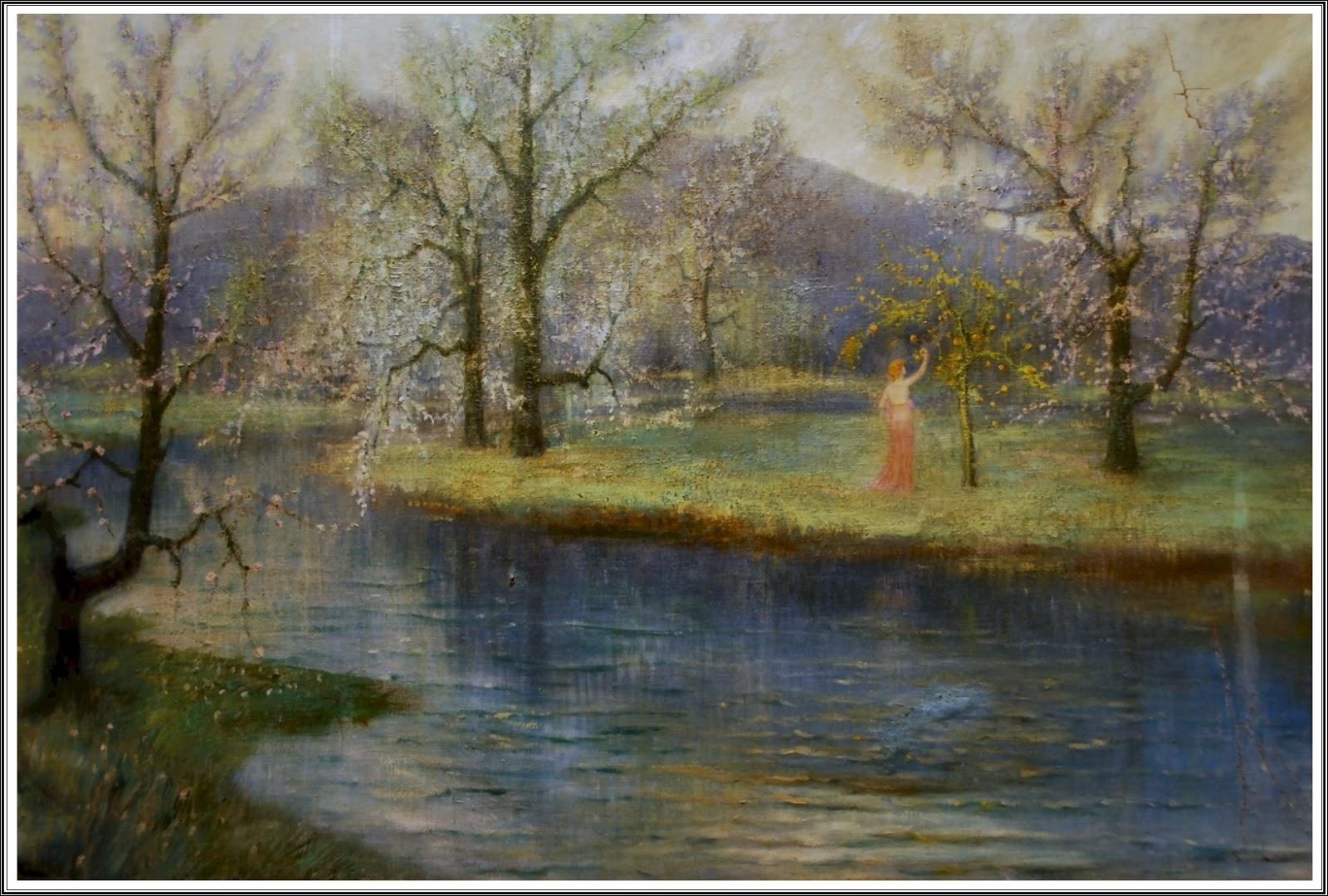 heiße Produkte Genieße am niedrigsten Preis verschiedene Farben Le Prince Lointain: Hermann Hendrich (1854-1931), Le Jardin ...
