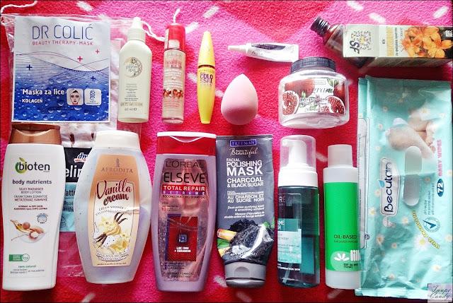 empties, afrodita, bioten, freeman, loreal, bourjois, ebelin, kantarionovo ulje, avon, lilly, dr colic maska