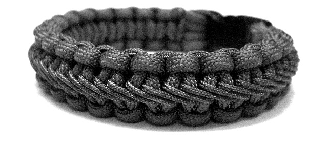 Stairstep Sched Paracord Bracelet