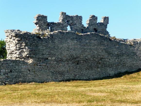 Кременец. Гора Бона (Замковая). Крепость
