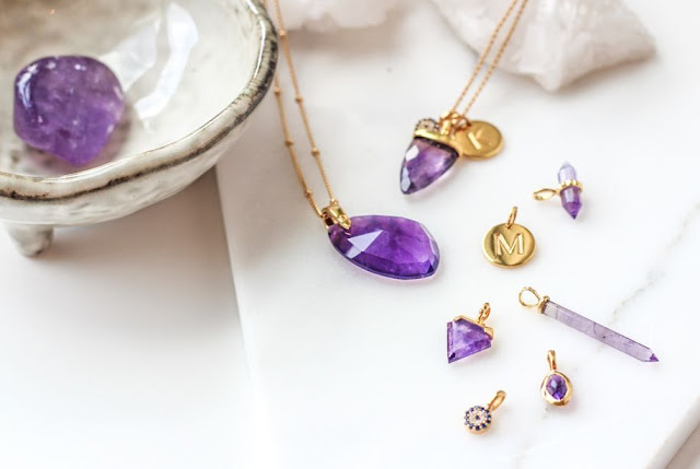 Missoma Meaningful Gemstone Collection - Amethyst