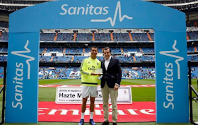 2 Cristiano Ronaldo wins Real Madrid's Healthiest Player of the Year award