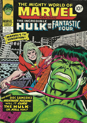 Mighty World of Marvel #314, the Hulk and Doc Samson