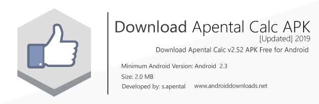 Apental APK 2019 File Details