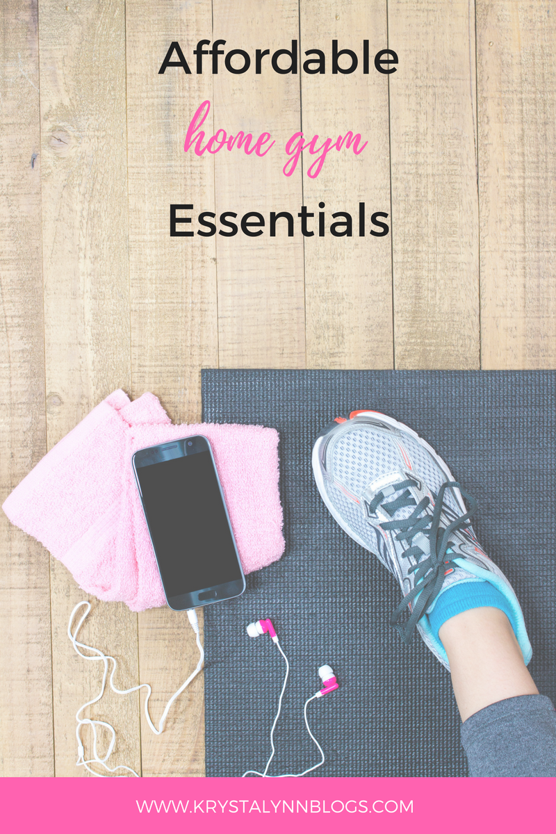 It might seem like having a home gym would be an expensive investment but there are a ton of ways to save money putting one together. Check out these affordable home gym essentials