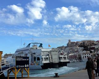 Il porto di Ibiza
