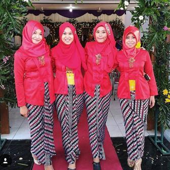 Model Baju Kebaya Muslim Kutu Baru Untuk Pesta Pernikahan