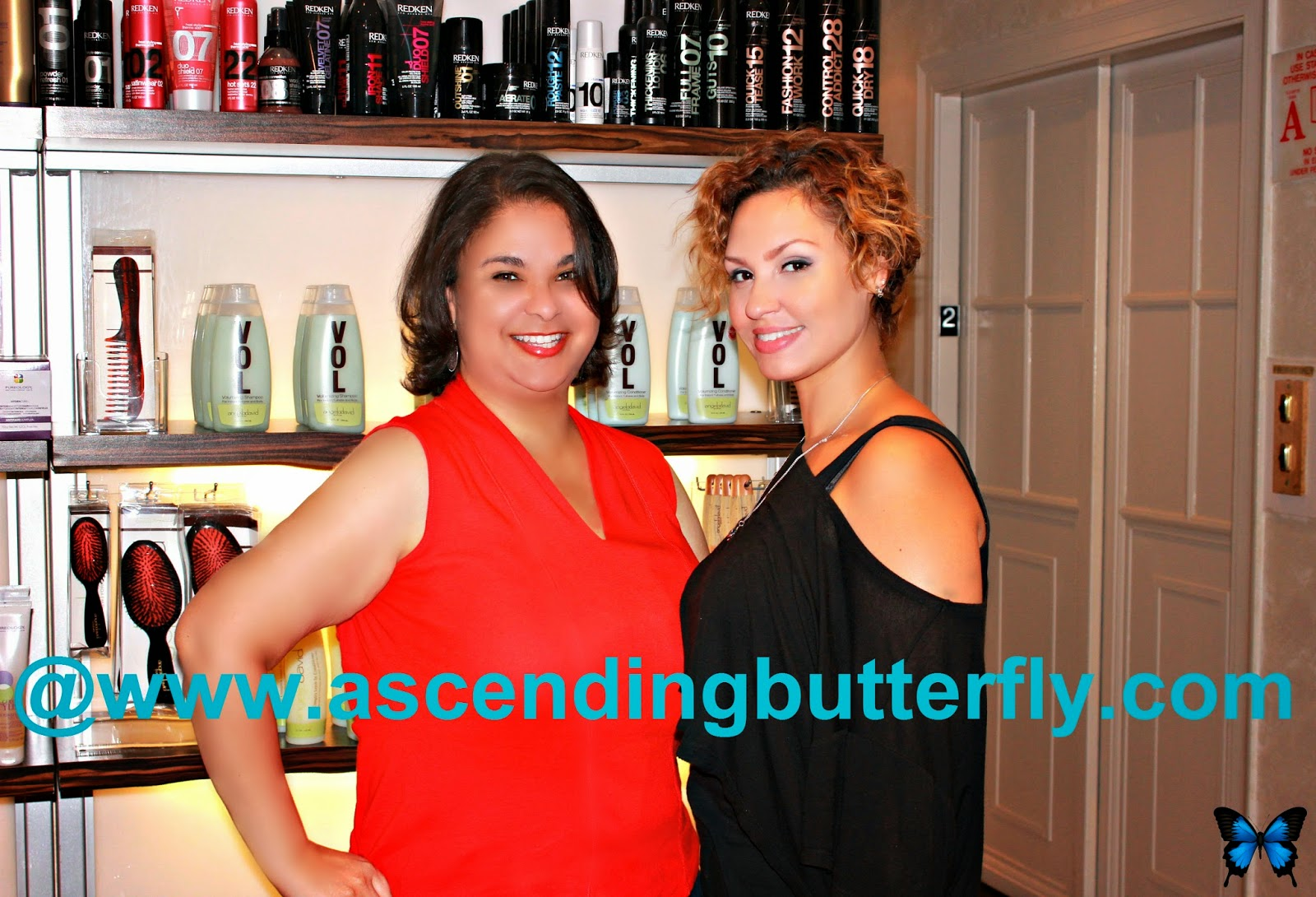 @angelodavidhair salon, Hair Stylist Ivy of the Angelo David Salon in New York City styles Ascending Butterfly Editor Tracy Iglesias, hair, haircut