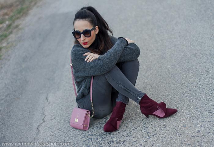 Influencer blogger moda con ideas para vestir comoda y con zapatos bonitos