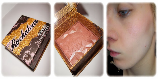 Swatch Blush Rockateur - Benefit