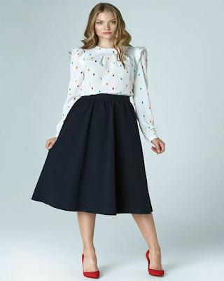 Outfits con faldas MIDI para las chicas de 20,30 y 40