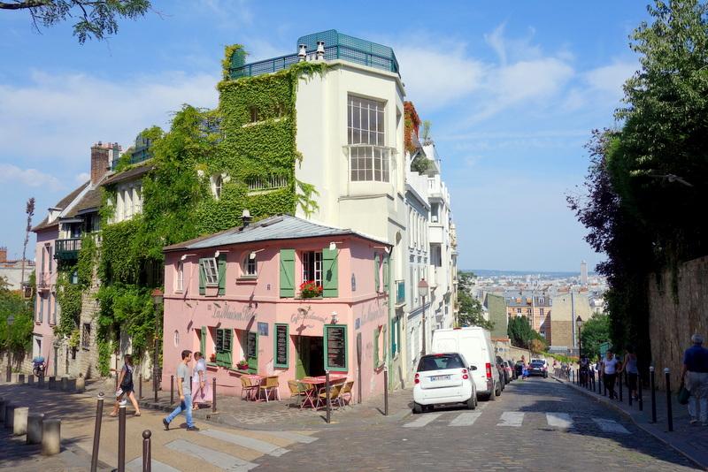 Paris la maison rose montmartre petite histoire et - Bureau de change rue montmartre ...