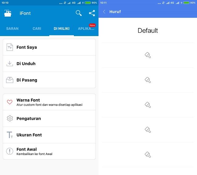Cara Ganti Font di Xiaomi MIUI 9 Tanpa Root