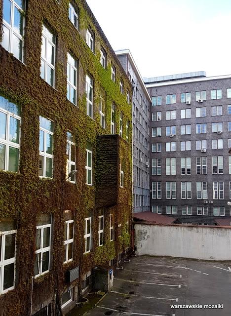 dziedziniec Warszawa Warsaw szara cegła Romuald Gutt Warszawska Szkoła Pielęgniarek lata 20. Koszykowa 78 Chałubińskiego architektura