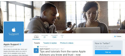 Apple-launched-customer-support-account-on-twitter