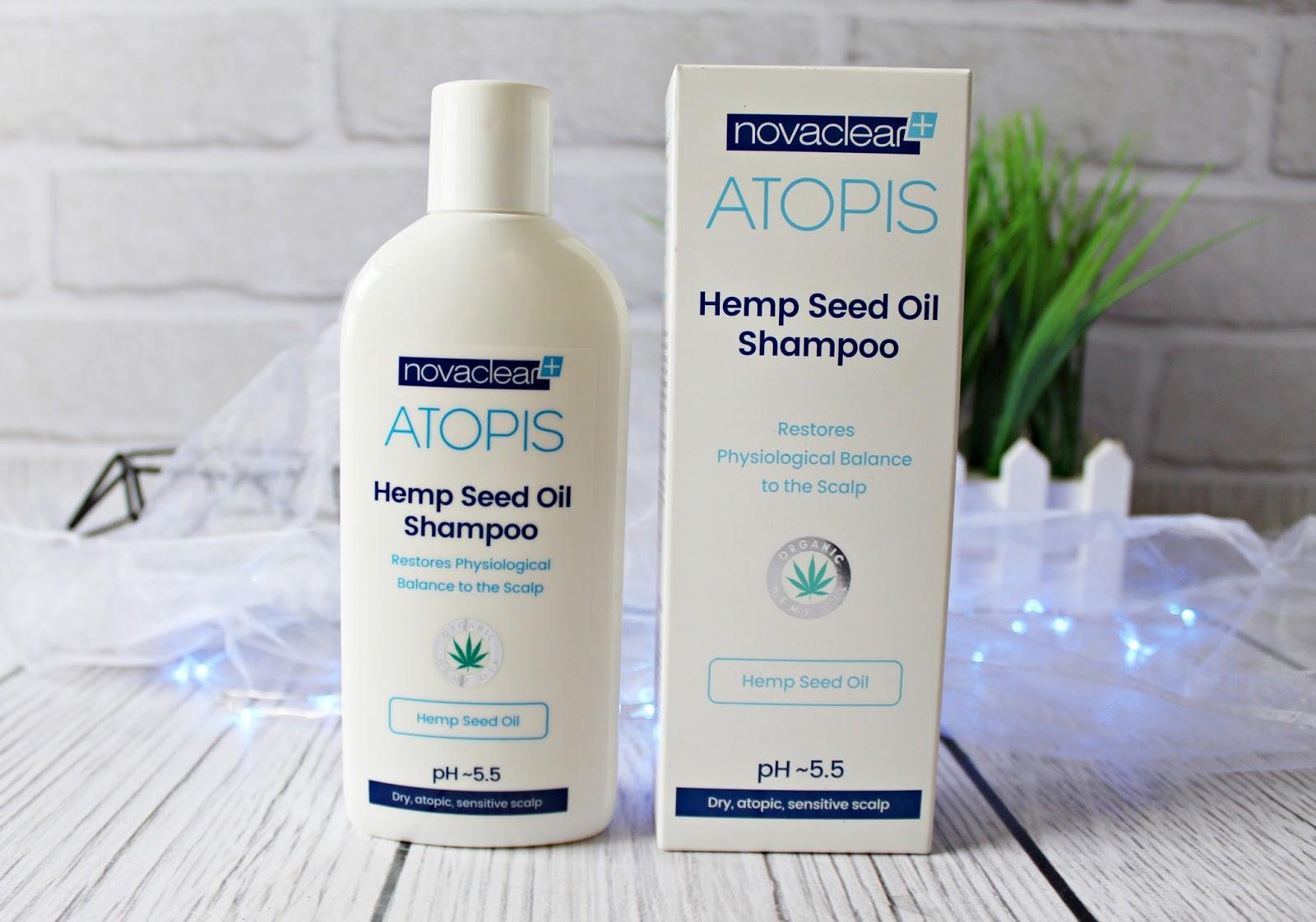 Szampon z organicznym olejem konopnym ATOPIS HEMP SEED OIL SHAMPOO