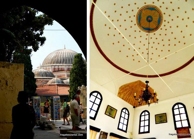 Mesquita de Suleiman e Biblioteca Muçulmana, em Rodes, Grécia