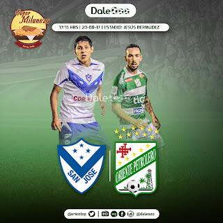 San José vs Oriente Petrolero - Jornada 5 Clausura 2017 - DaleOoo - Super Milaneza