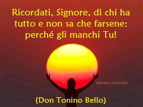 Padre Stefano Liberti Don Tonino Bello Vescovo Citazioni